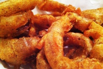 Onion Rings from Ray's Hell Burger in Arlington