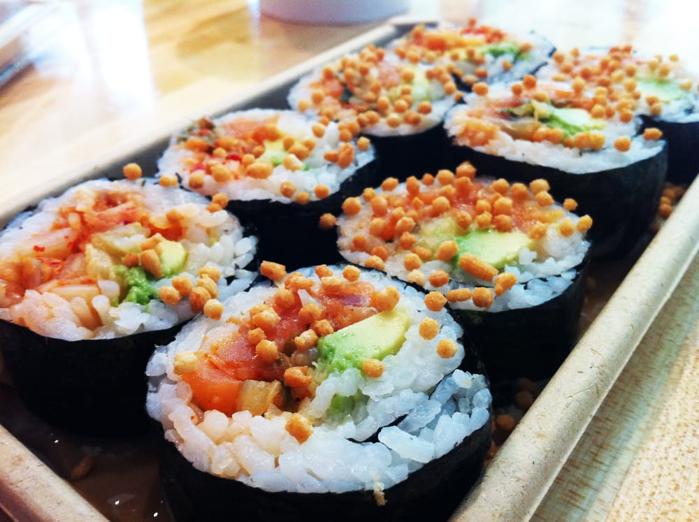 Spicy Salmon Roll from Oh Fish