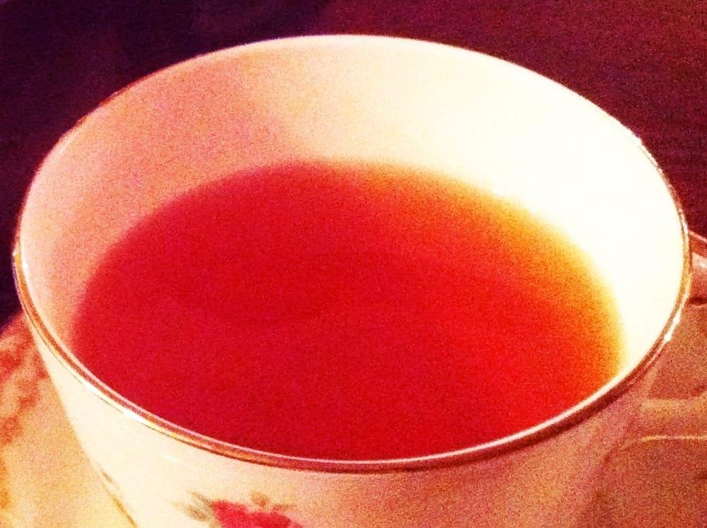 Tea from Alice's Tea Cup New York City