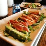 Spiced Salmon Steak Salad Tapas $9 @ MASA 14 on U St in DC