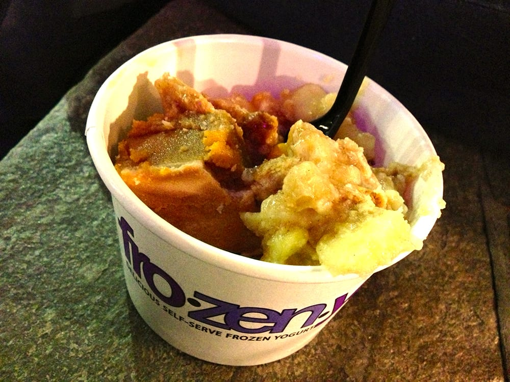Apple & Pumpkin Pie Froyo @ FROZENYO Silver Spring