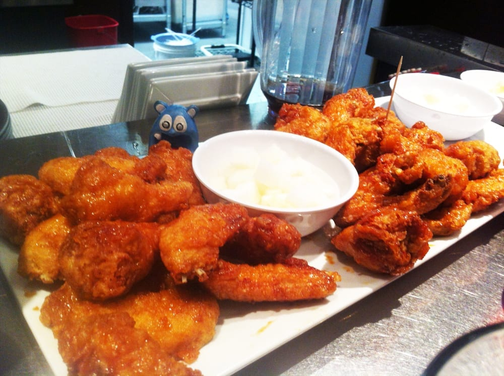 Soy Garlic Wings from Bon Chon Ellicott
