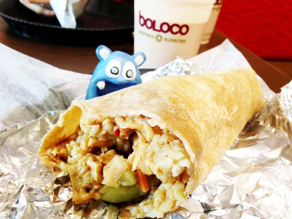 Bangcock Thai Burrito from Boloco Bethesda