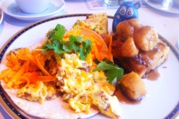Breakfast Burito from Farmers Fishers Bakers Brunch