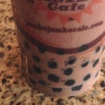 Chocolate Bubble Tea from Jumbo Jumbo Bubble Tea Express