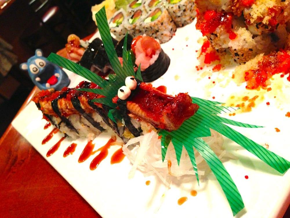 Flying Dragon Roll Sushi Jin