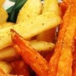 Regular and Sweet Potato Fries from Big Buns