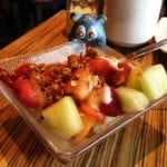 Fruit & House Made Granola Tapas $4 @ MASA 14 on U st in DC