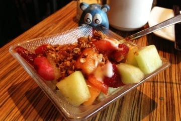 Fruit & House Made Granola Tapas $4 @ MASA 14 on U st in DC