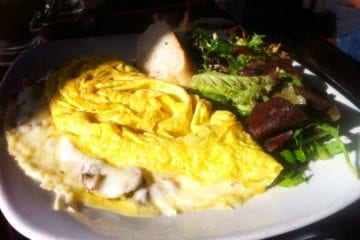 Mushroom Omelette from Daily Dish