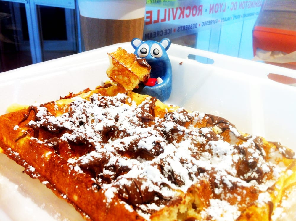 Nutella Waffle from WickedWaffle