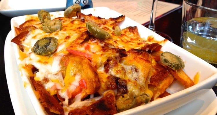 Potato Nachos $7 @ Scion in Down Town Silver Spring, Maryland