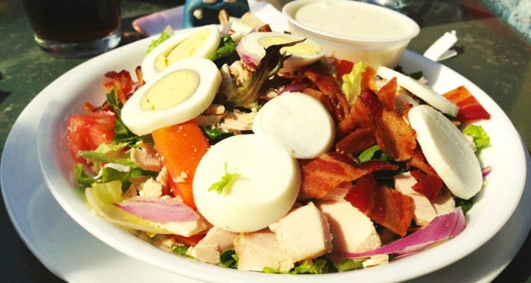 Roasted Turkey Cobb Salad from Trio