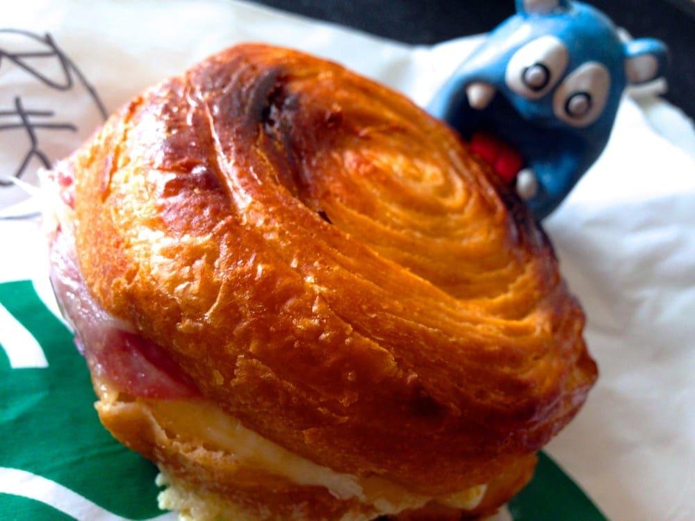 Slow Roasted Ham & Swiss Breakfast $4 @ Starbucks