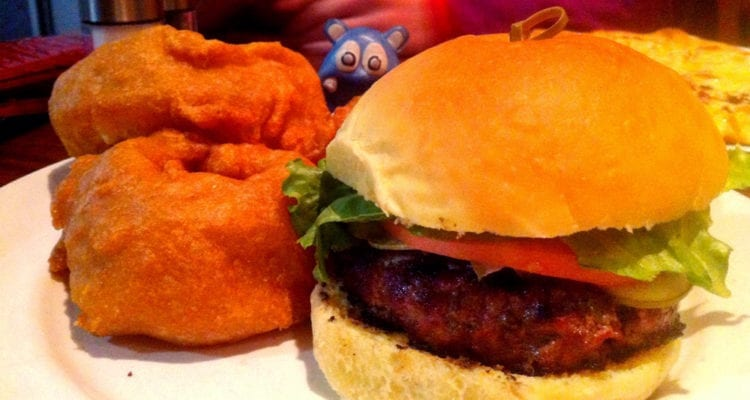 Bacon Jam Burger $14 @ Mad Fox Brewing Falls Church