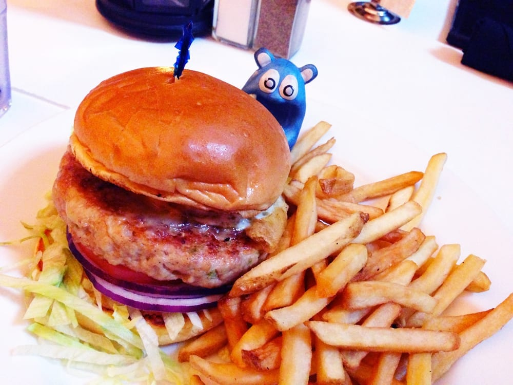 Turkey Burger from Madhatter