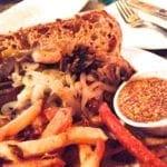 Vegan Sausage from Limerick Pub