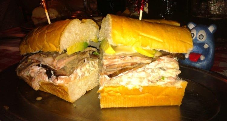 Dr Ecker the Checker Sandwich from Roy's Place