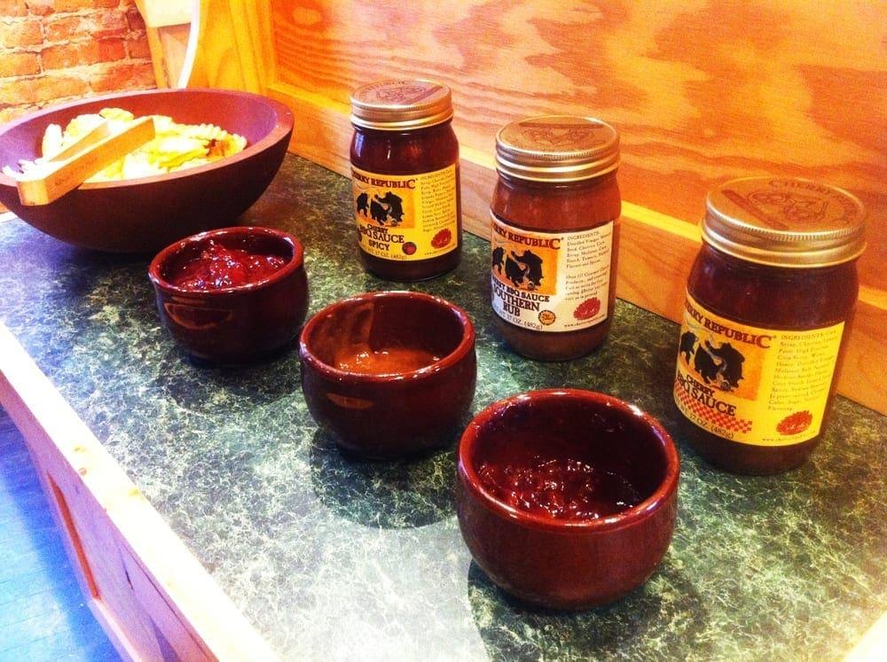 Cherry BBQ Sauce from Cherry Republic