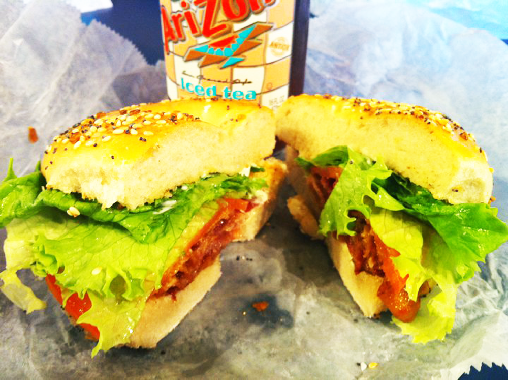 BLT Bagel from Georgetown Bagelry