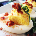 Bacon Deviled Eggs from Piratz Tavern