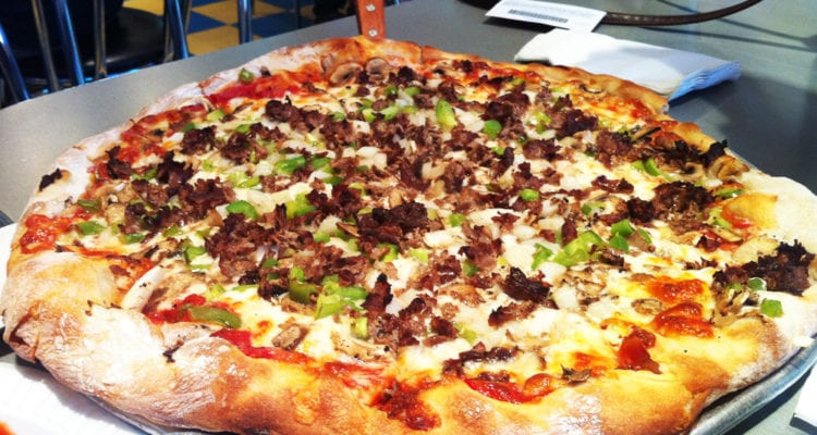 Big B's Philly Steak N' Cheese Pizza from Giuseppi's