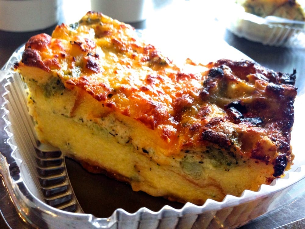 Broccoli Cheddar Strata from Starbucks Puerto Rico