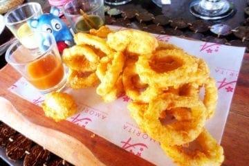Calamari from Amorita Resort Bohol Philippies