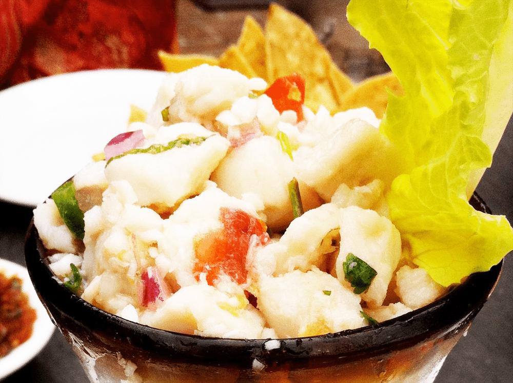 Ceviche Del Mar from Paloma Blanca