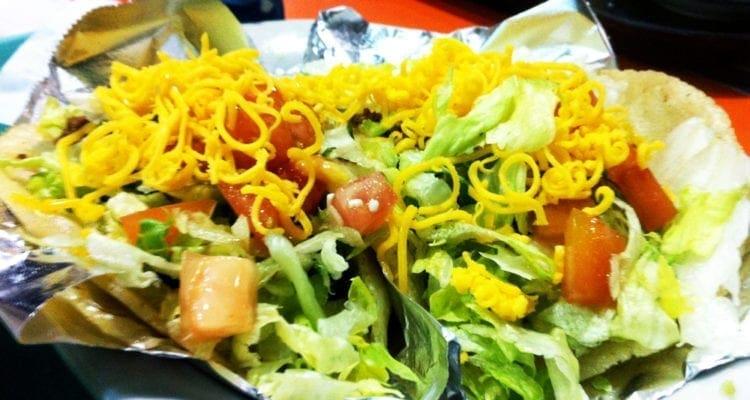 Picadillo Puffy Tacos from Chacho's San Antonio Texas