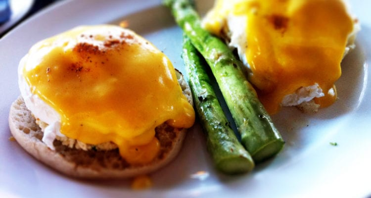 Chesapeake Eggs Benedict from Getaway