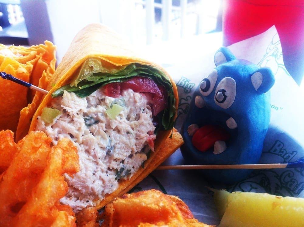Chicken Salad Wrap from Brass Balls Saloon Ocean City