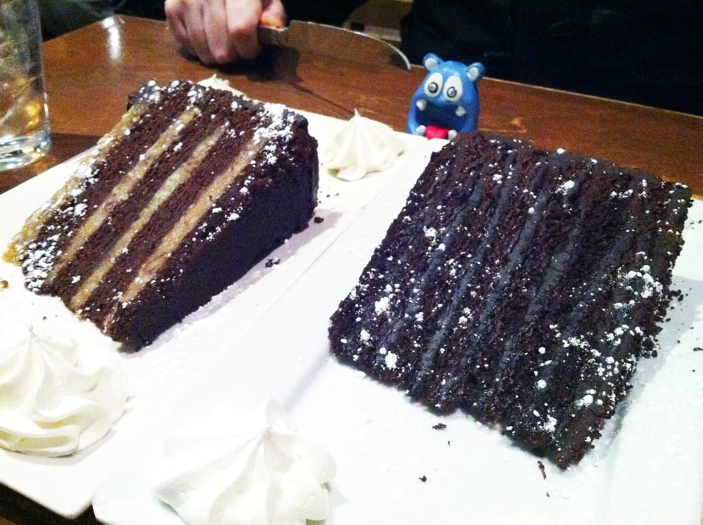 Chocolate Cake from Eggspectation