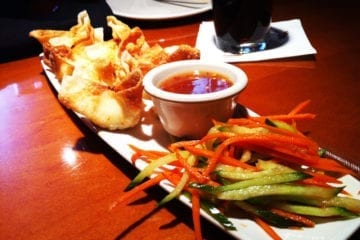 Crab Wontons from PF Chang's