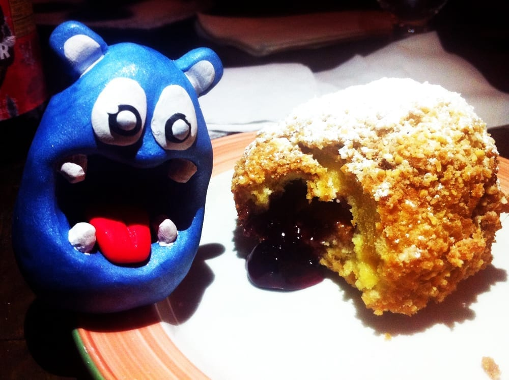 Deep Fried PB&J Sandwich from Concrete Bar New York City