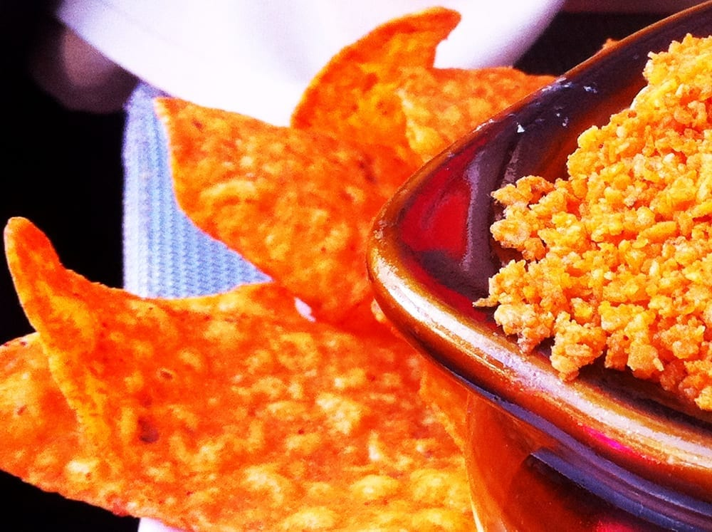 Dorito Crusted Mac n Cheese from PBR Rock Bar