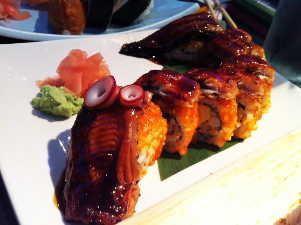 Dragon Roll from Niwano Hana