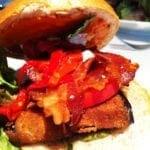 Fried Eggplant Sandwich $10 @ Urbana Dupont Circle