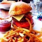 Frisco Burger from Founding Farmers MoCo