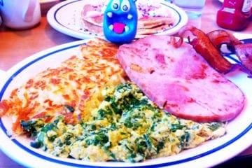 Green Eggs & Ham from IHOP