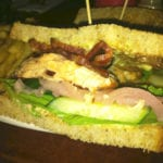 Grilled Salmon Sandwich from Open City