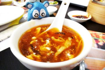 Hot and Sour Soup $2 @ Gloria Maris in Manila Philippines