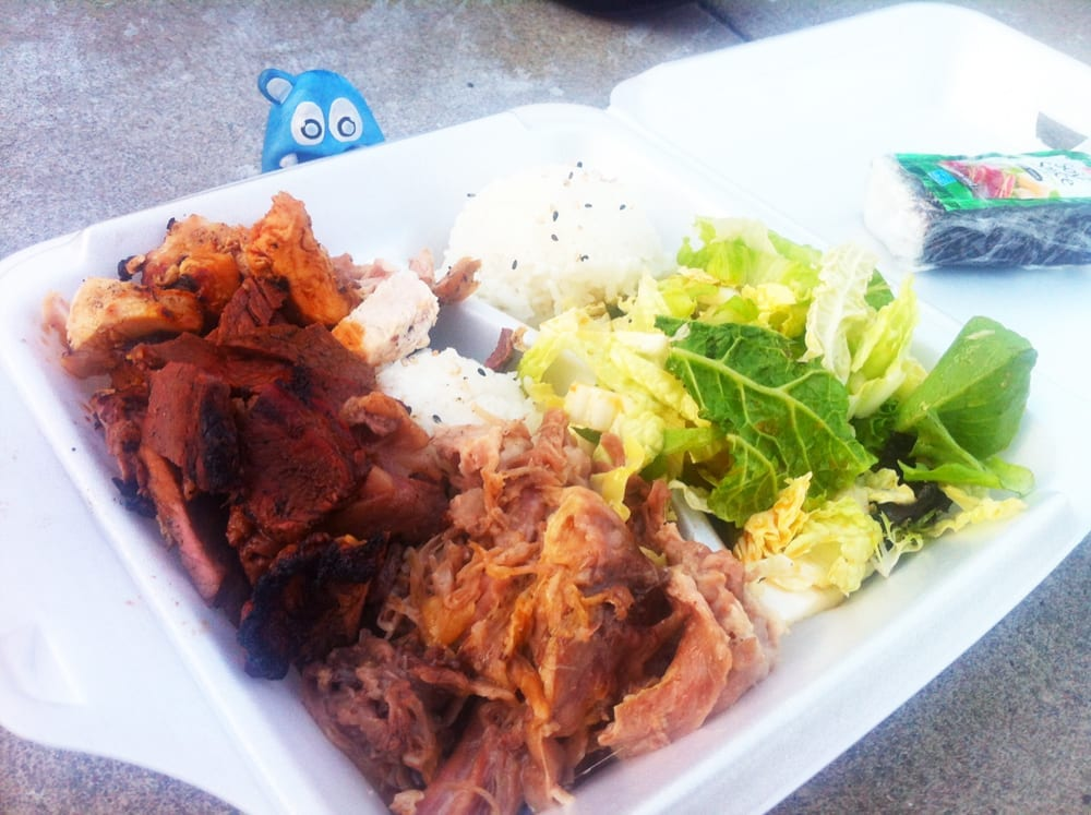 Hula Girl Sampler Plate from Hula Girl Truck