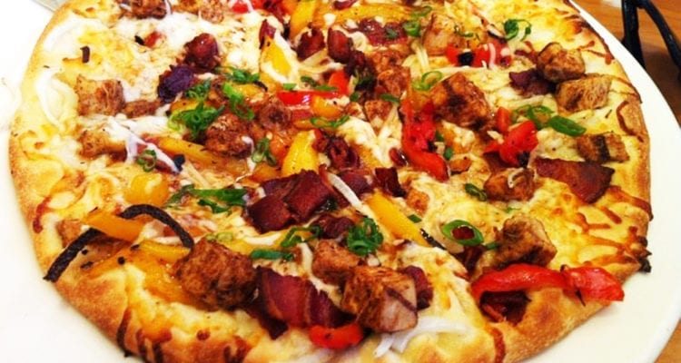Jamaican Jerk Chicken Pizza from California Pizza Kitchen
