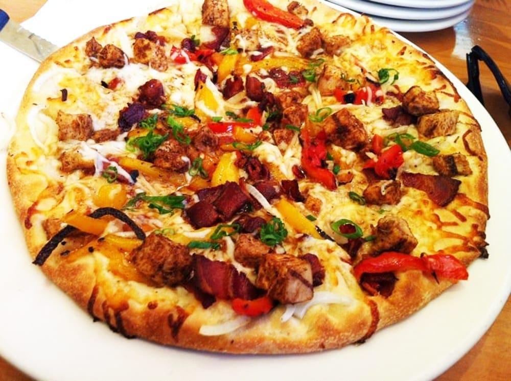 Jamaican Jerk Chicken Pizza from California Pizza Kitchen