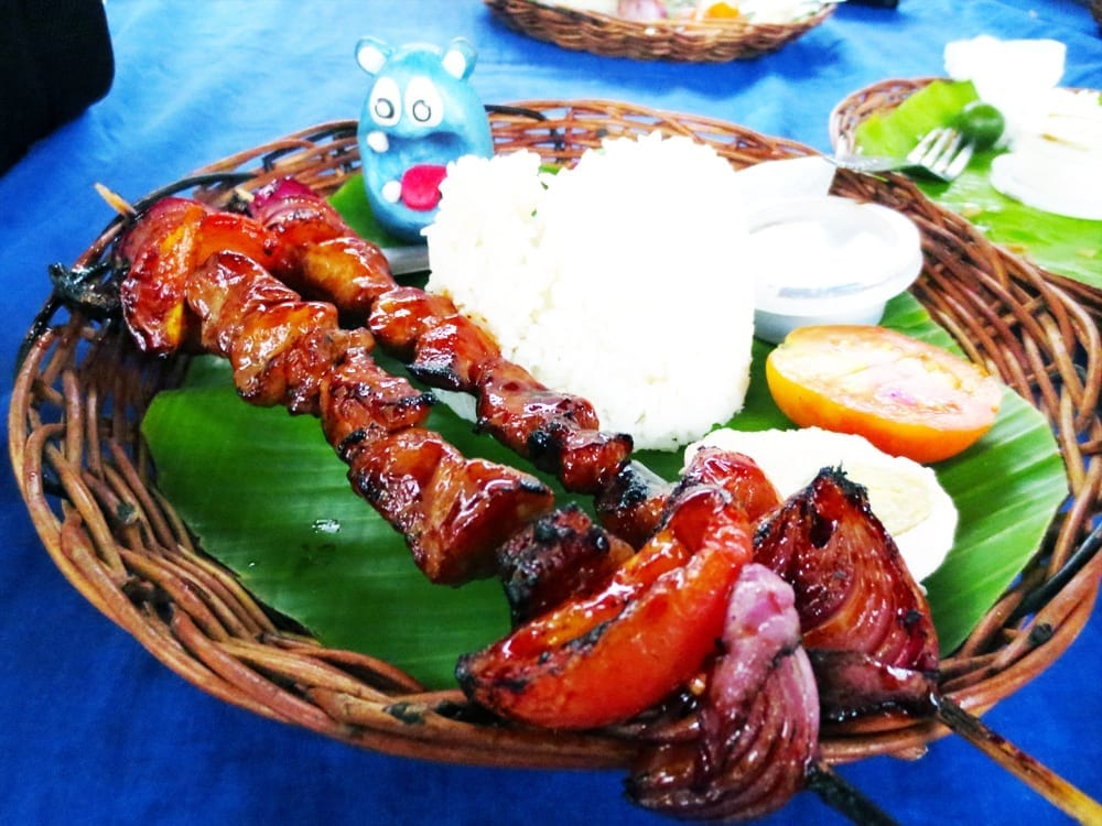 Chicken Kebab from MaNild's Ilonggo's Sinugba Manila Philippines