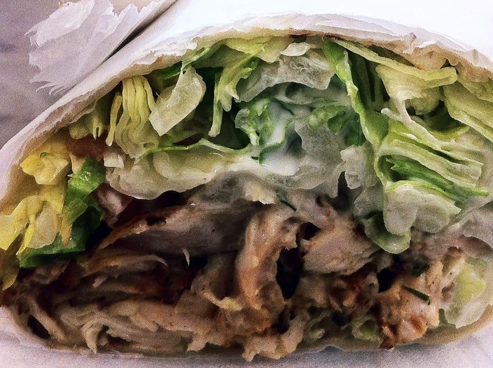 Kickin' Chicken Tortilla Wrap from Kickin Chicken