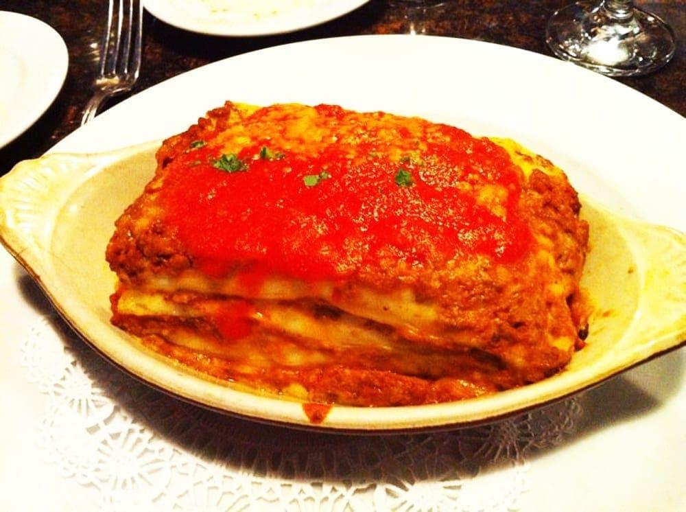 Lasagna from Amici Miei