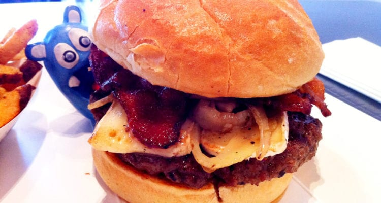 Let It Brie Burger from Stage Burger Lounge