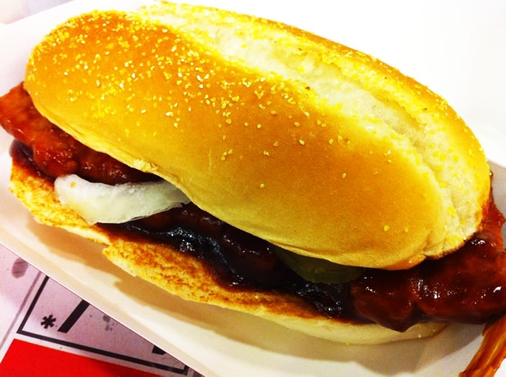 McRib from McDonald's